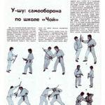 Самооборона по школе «Чой» (часть 3) Защита с помощью длинной палки и короткой палки