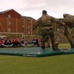 Рукопашный бой спецназа: Royal Marines Commandos — Показательные выступления
