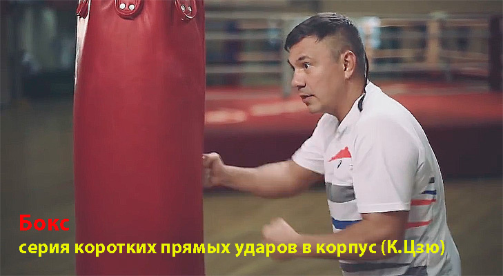 Бокс серия коротких ударов Константин Цзю