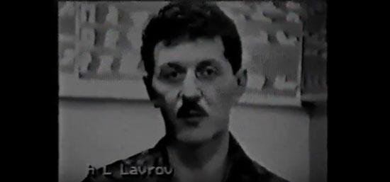 Александр Лавров с усами
