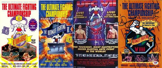 обложки UFC